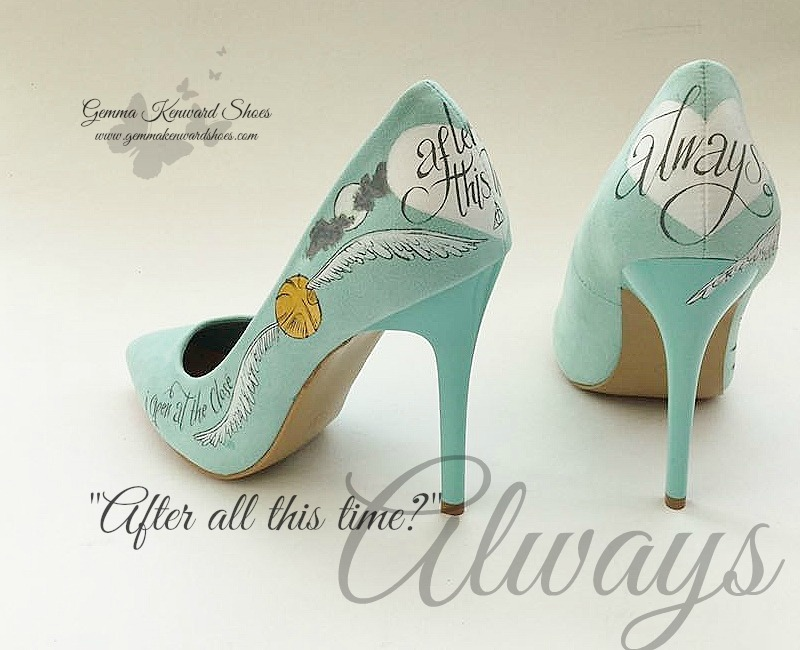 After all this time always harry potter quote shoes