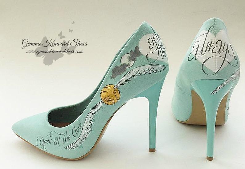 Customised Harry potter Wedding Shoes