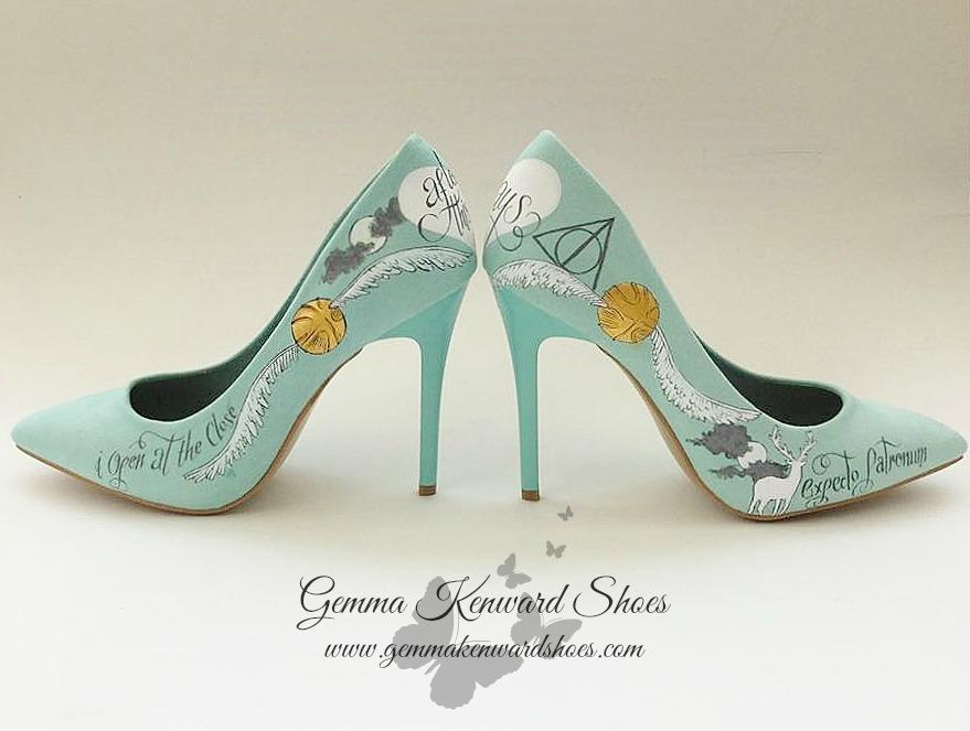 Petronus Harry Potter wedding shoes