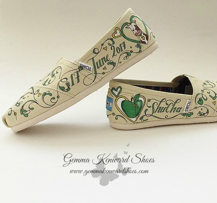 Hand Painted green wedding Toms.jpg