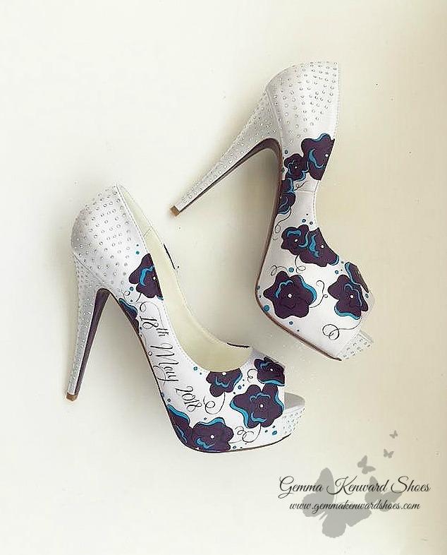 Deep purple custom painted wedding shoes.jpg
