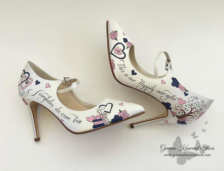 Fairtale wedding hand painted wedding shoes.jpg