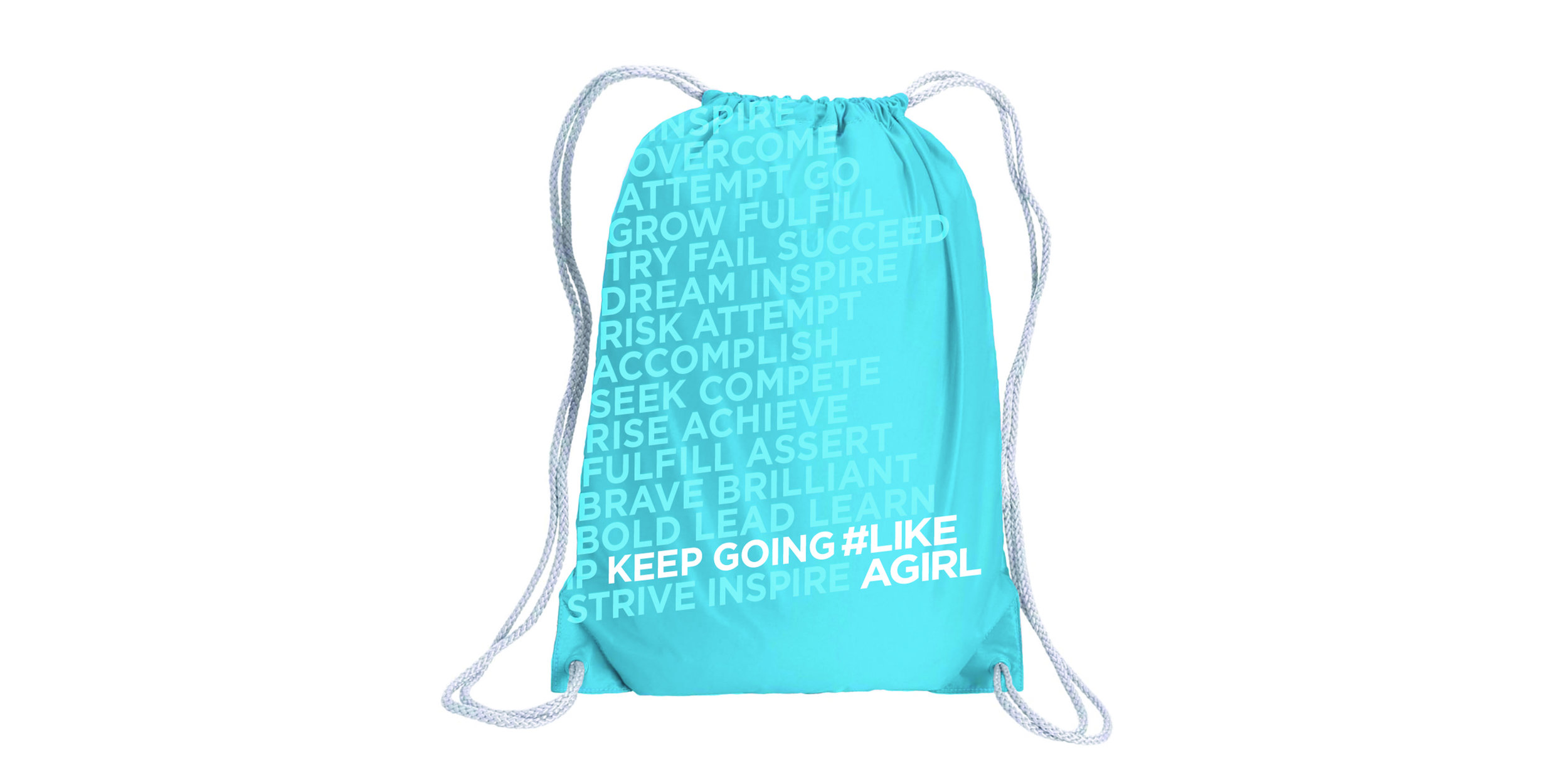 Drawstring Backpack out of Packaging