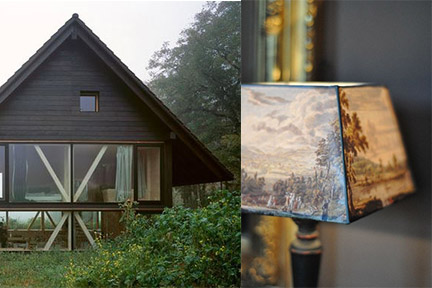 Cabin details Bringing the outdoors in; Cabin via Sunset magazine Washington State