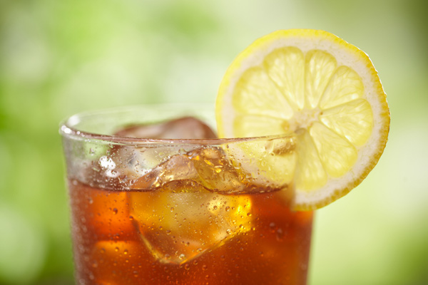 An afternoon sip what could be better than a fresh Iced Tea
