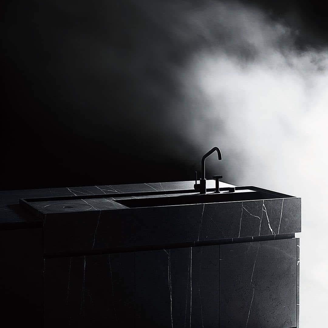 The dark kitchen awaits