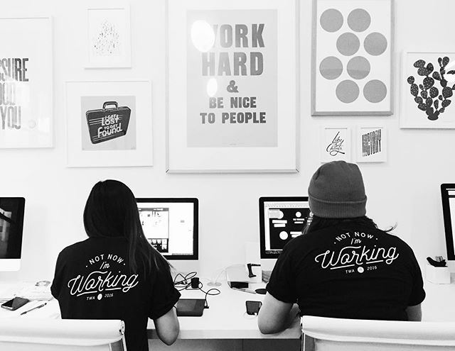 Repost @workingassembly: New year. New gear. Who wants a tshirt? hello@theworkingassembly.com