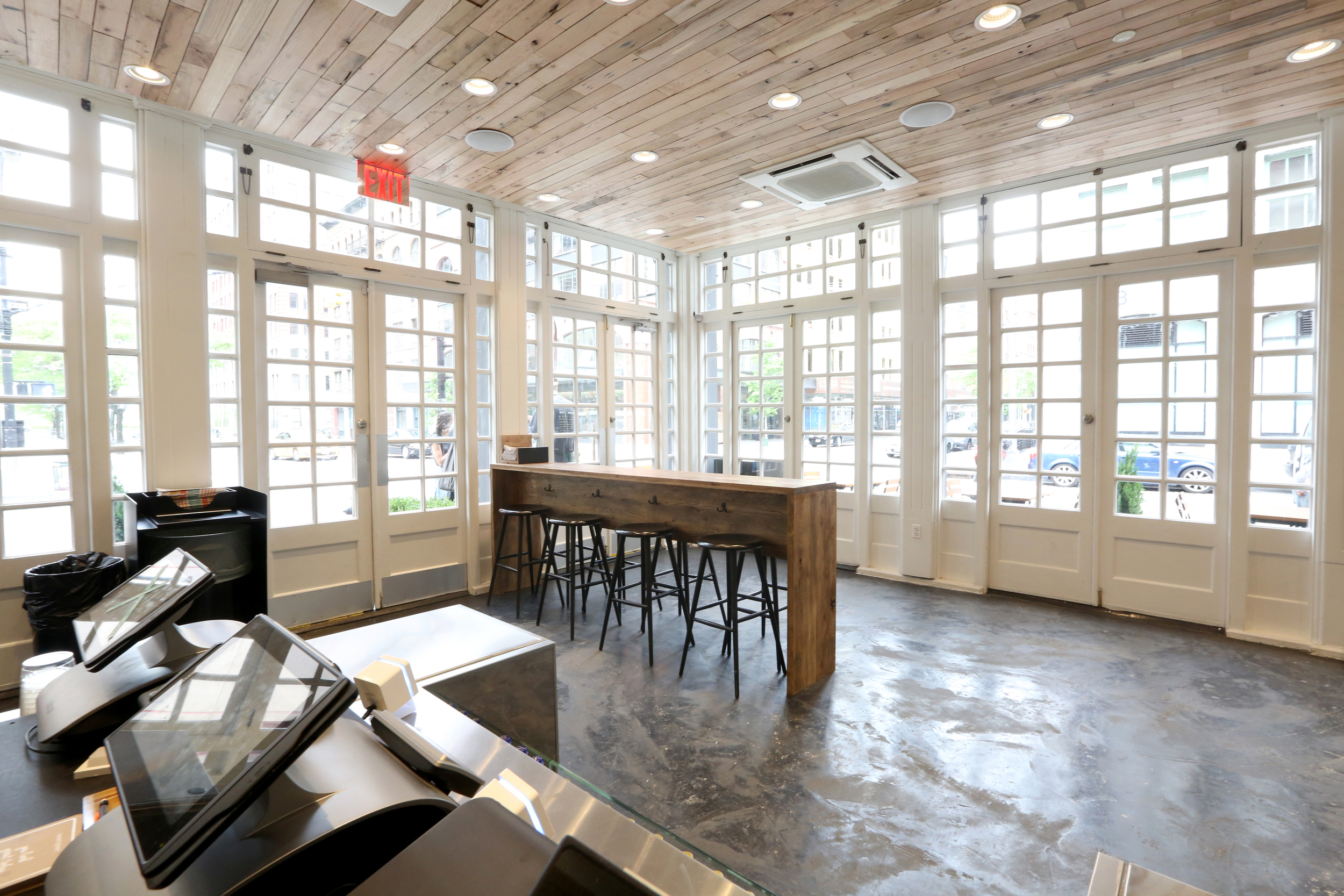 Sustainable hardwood flooring and reclaimed wood flooring designed in Brooklyn and made in New York.