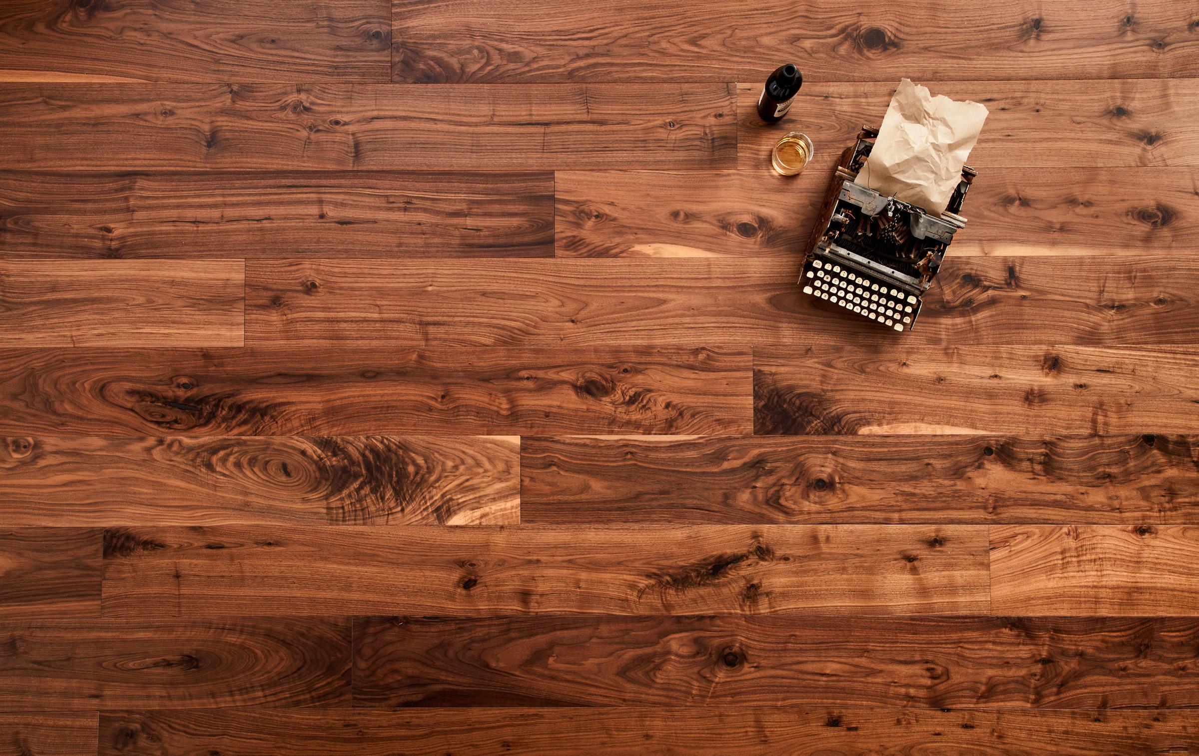 American Black Walnut Flooring NYC