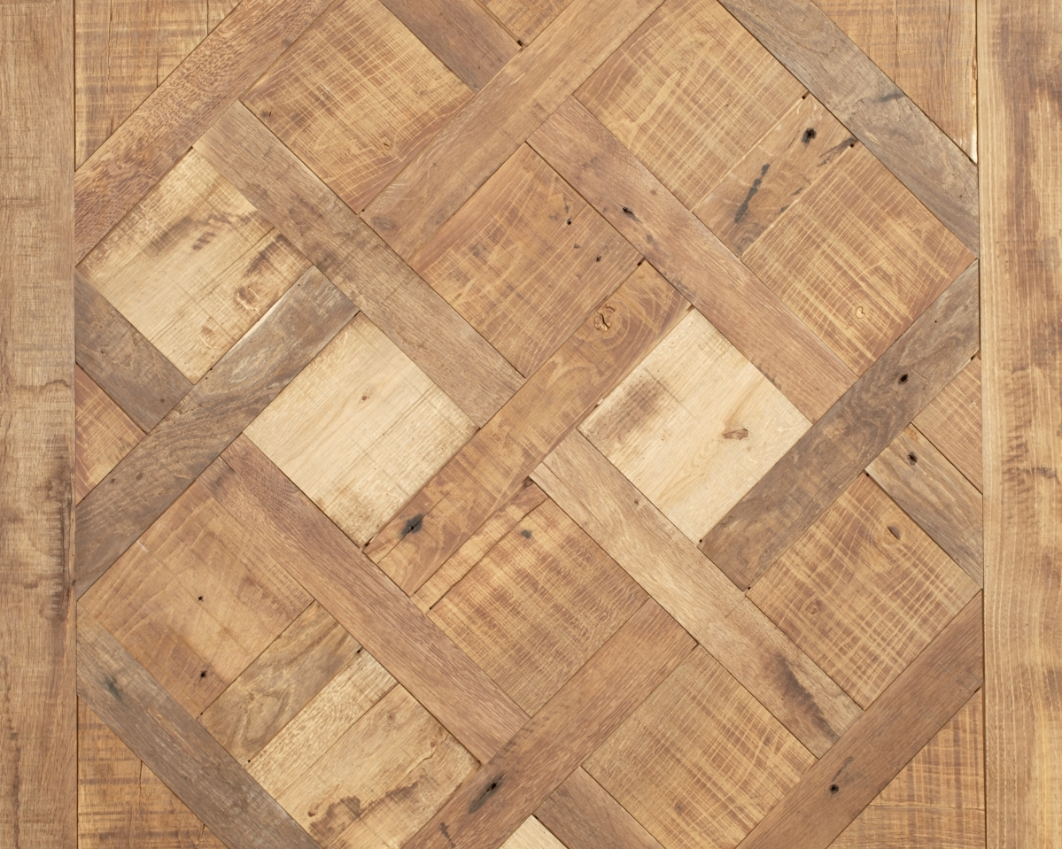 French Oak Versailles Parquet (Original Surface)