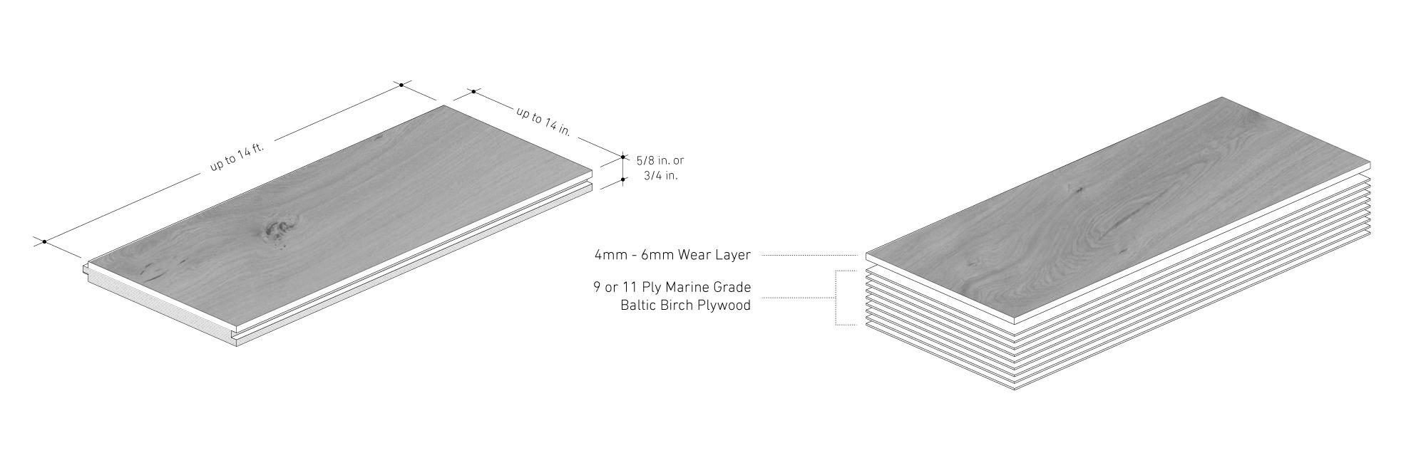 M A D E R A | Simply Wood Floors | Designed by NatureFlooring
