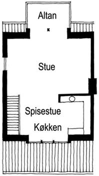 Hovedhus - tagetage