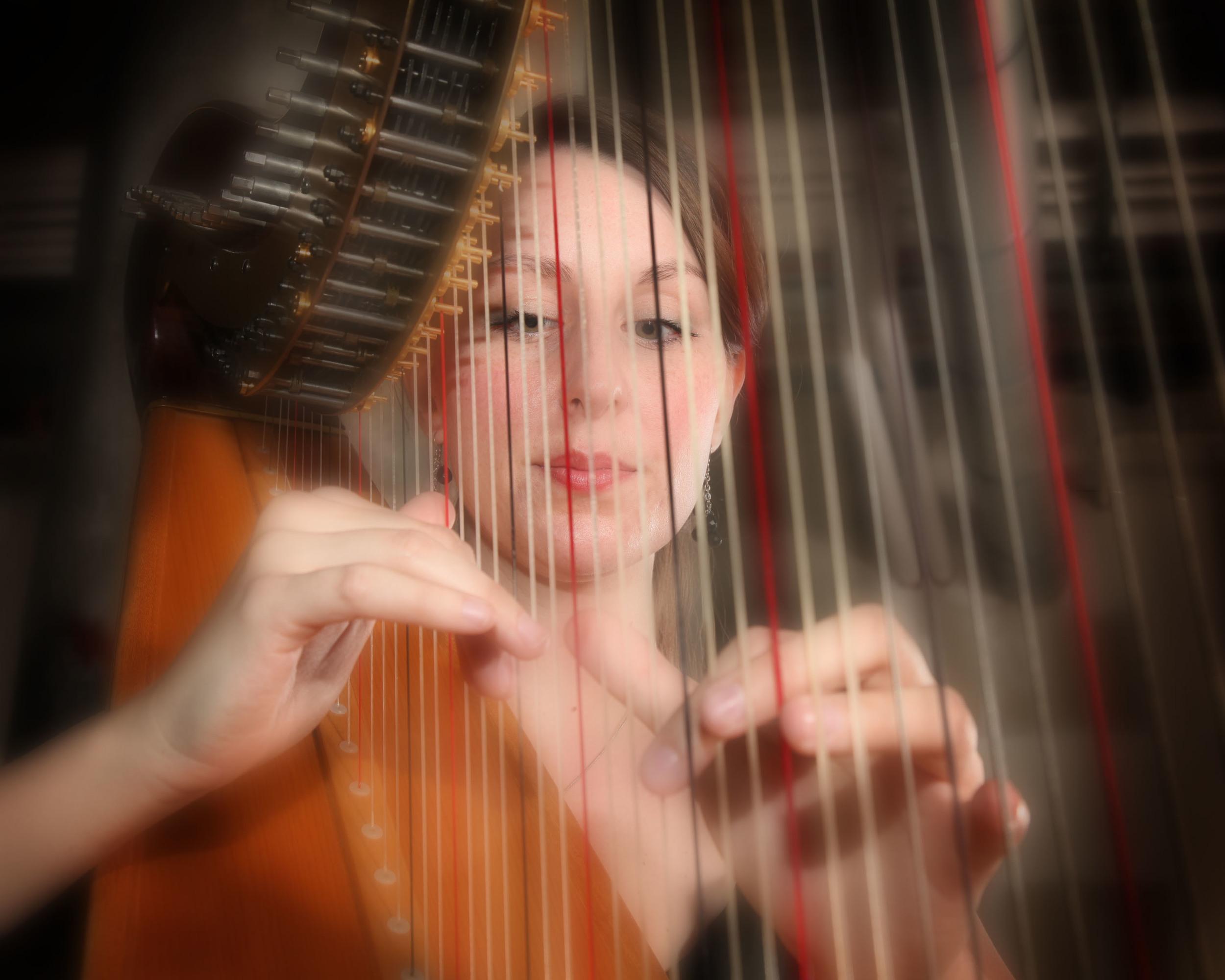 Featuring Megan Stout, harp