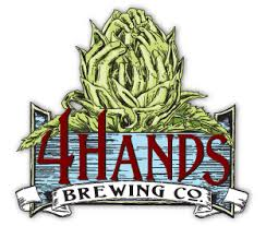4 Hands Brewing Company is a fun venue, but we quickly out grew it.