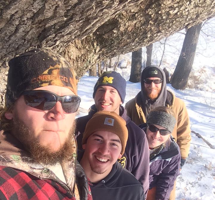 During January, Rich Wehmeyer, Derrick Barnes, Kyle Mooney, Hayley Noneman and Matt Roberts are serving on an interim crew in Iowa.