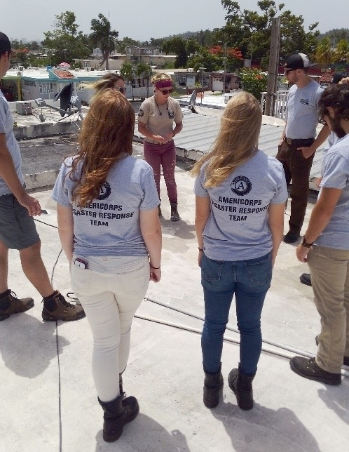 Conservation Corps Minnesota & Iowa members begin work in Puerto Rico
