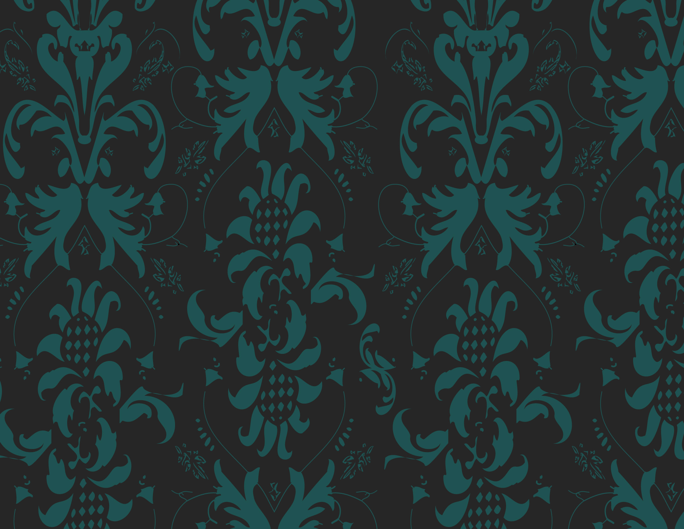 Wallpaper design for Bea's of Bloomsbury First Shop