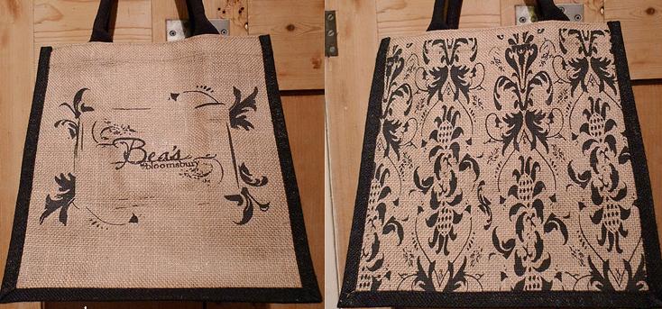 Bea's of Bloomsbury Jute Bag