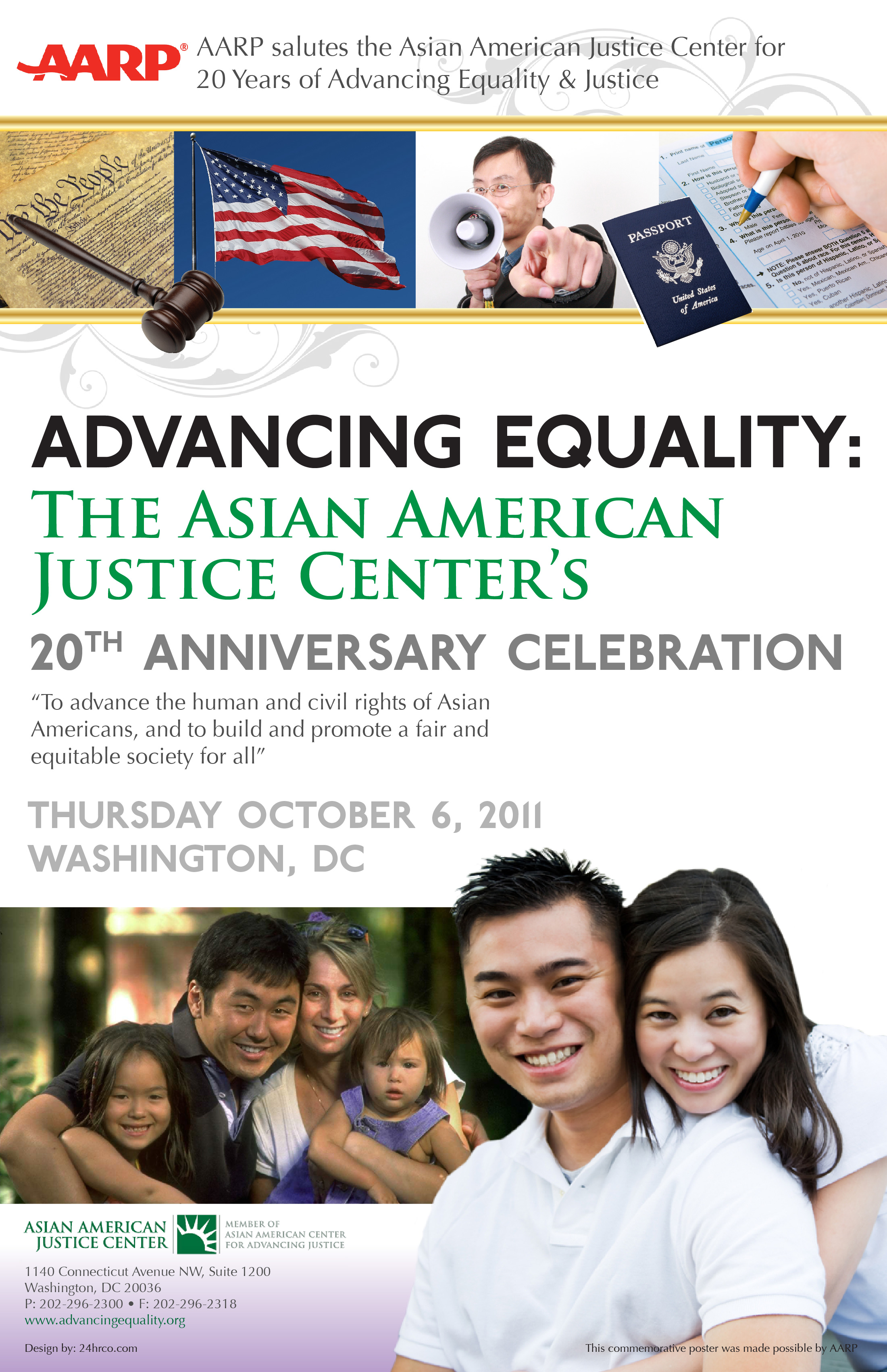 Asian American Justice Center Poster