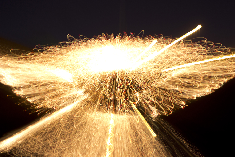 Variable focal length (24-70mm), f2.8, ISO 100, 8-second exposure