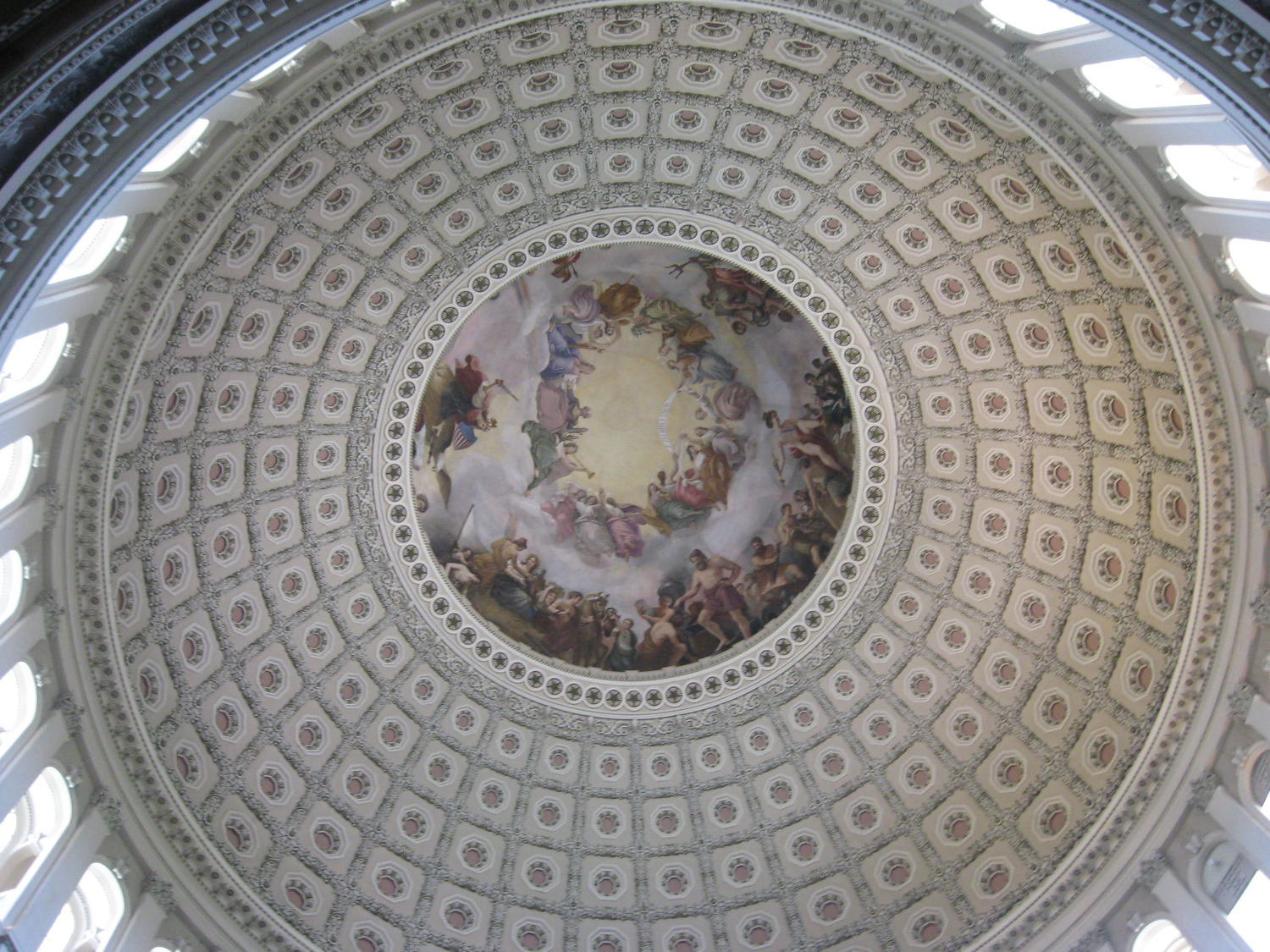 U.S. Capitol ceiling,  Student Photo: ©2013 Stacy McName