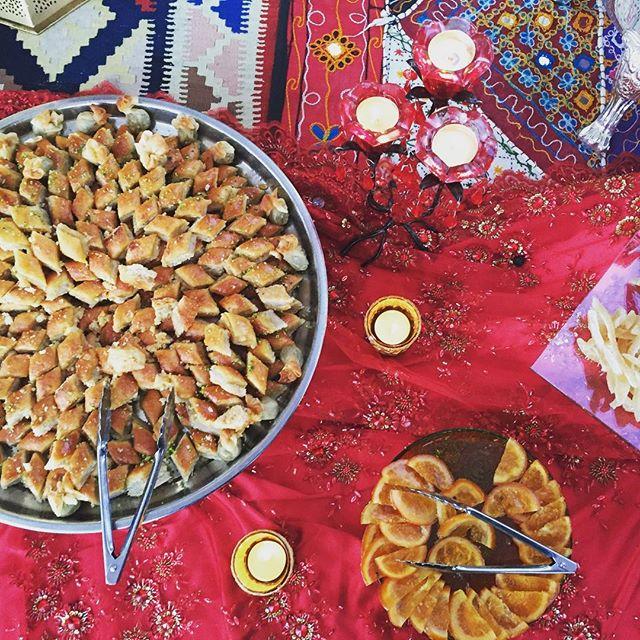 ❤️❤️❤️ #baklava #myfavorite #turkishtextiles