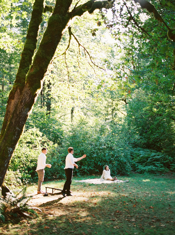 Tillamook Forest Wedding