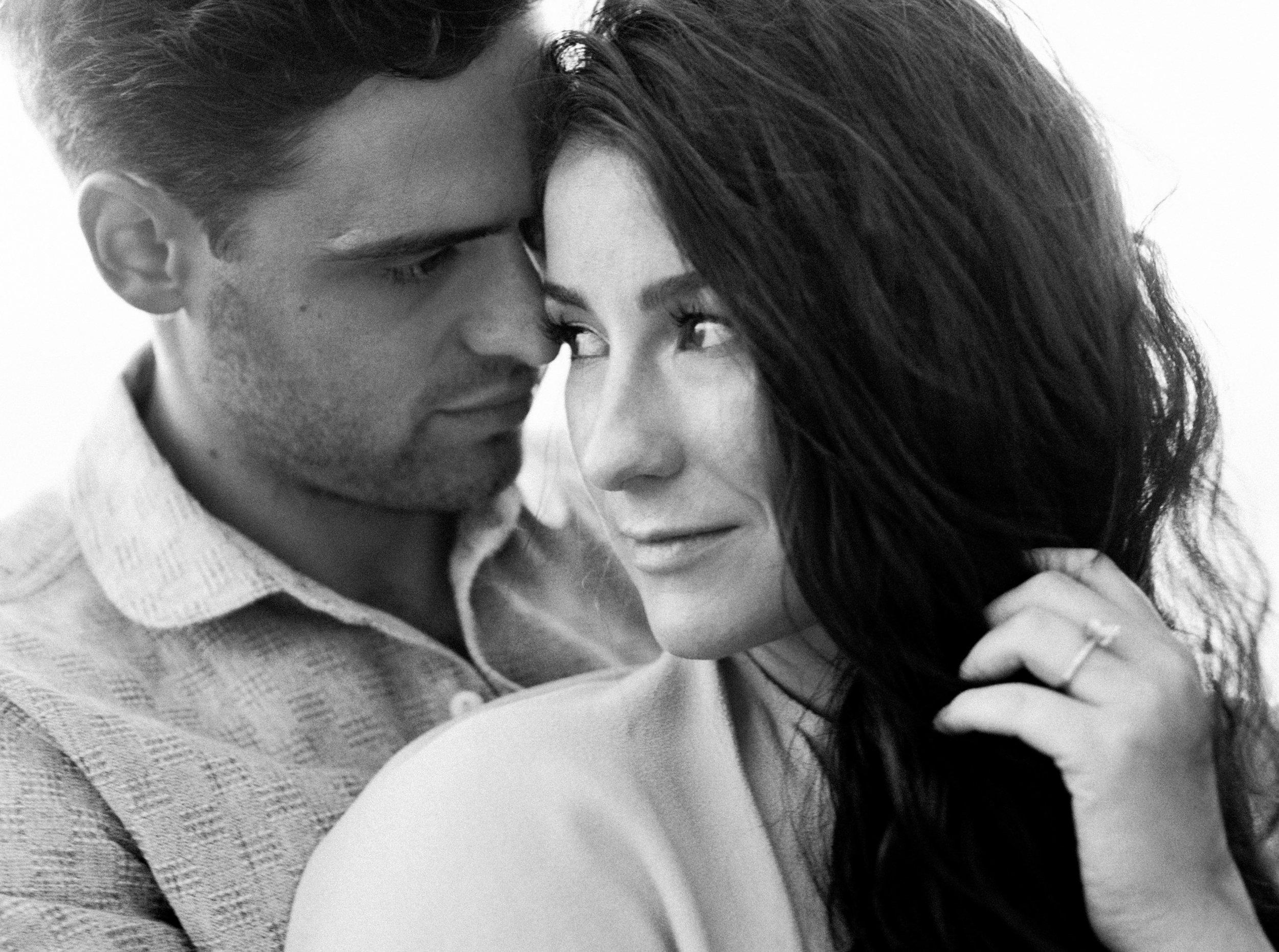 Cute couple during Oregon Engagement Photos