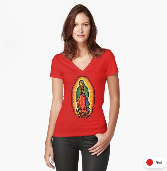 Women's Fitted V-Neck T-Shirt  $29.50