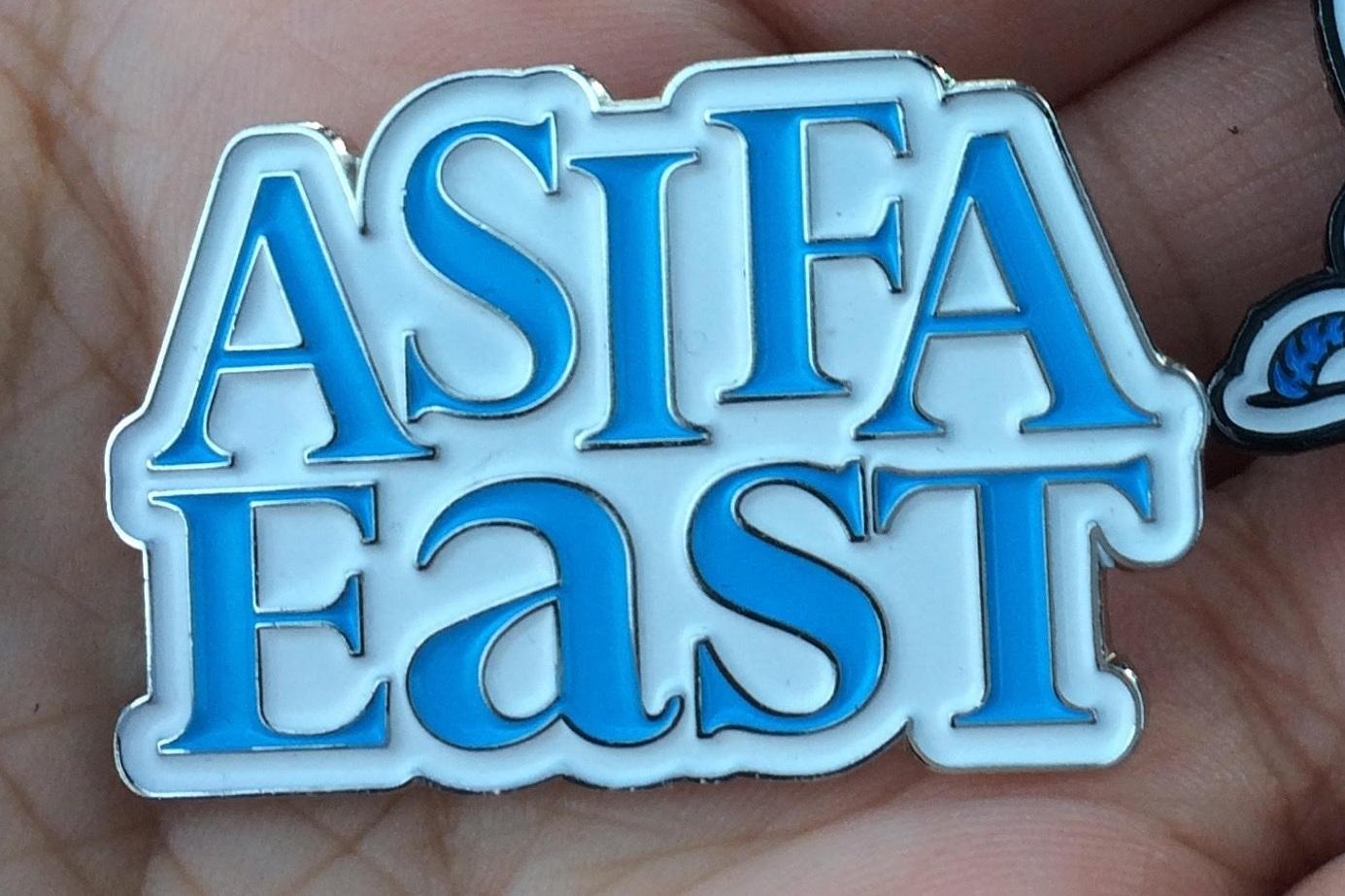 ASIFA East (Association Internationale du Film d'Animation) logo design. Art Direction branding.