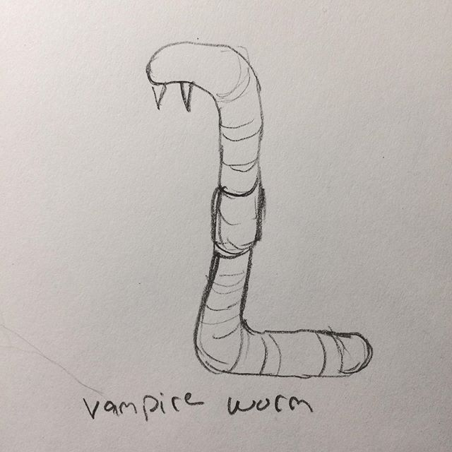 My friend told me about a show called #thestrain. Based on her description I drew this #illustration. She said it was spot-on. Not #inktober #pencildrawing #buckuback