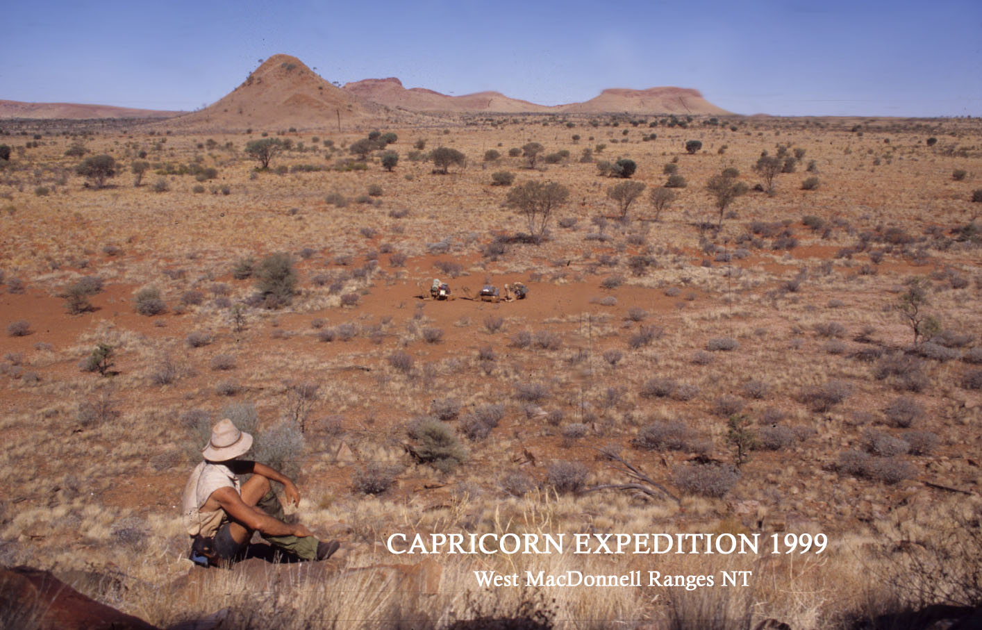 MacDonnell Ranges, NT.