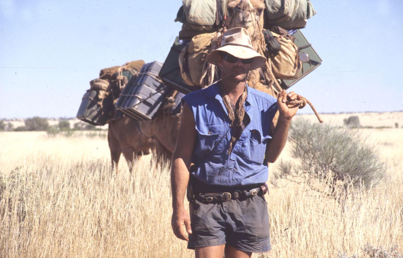 On the move, Gibson Desert, WA.
