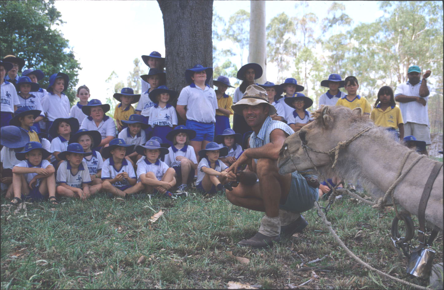 A stop with schoolkids in QLD.