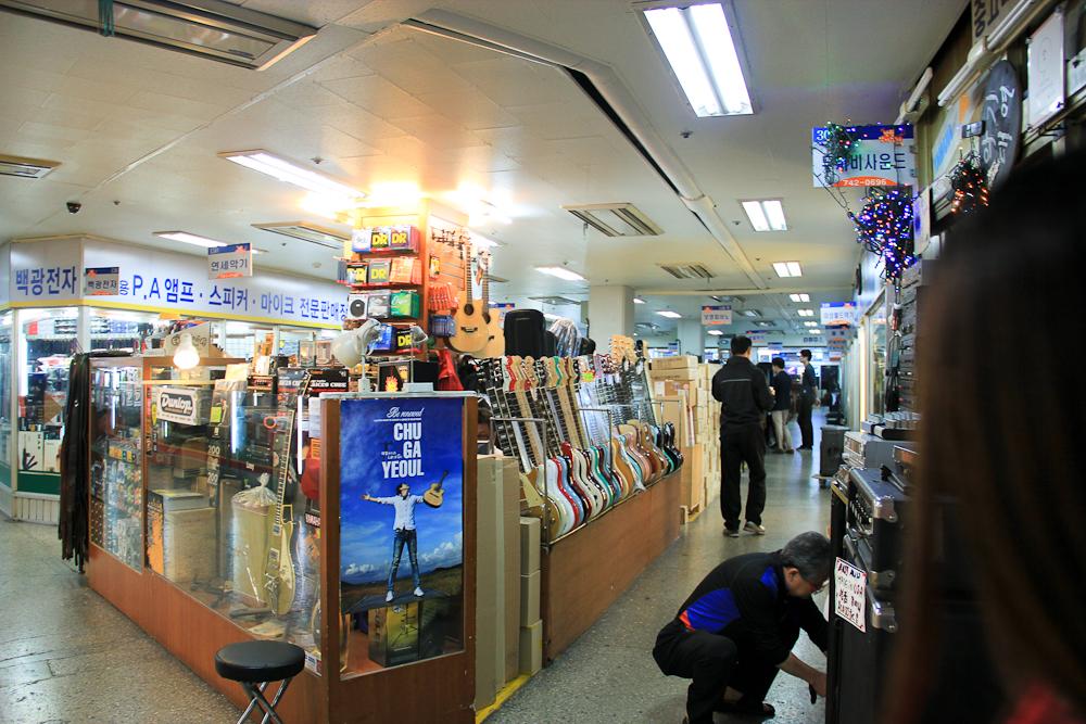 Inside Nakwon Arcade