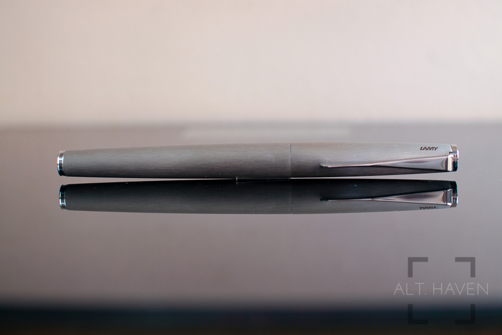 Lamy Studio in brushed stainless steel finish