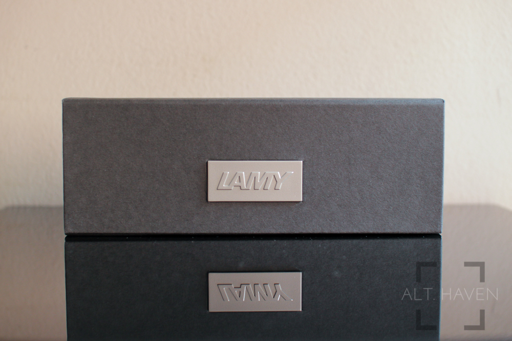 Lamy Studio packaging