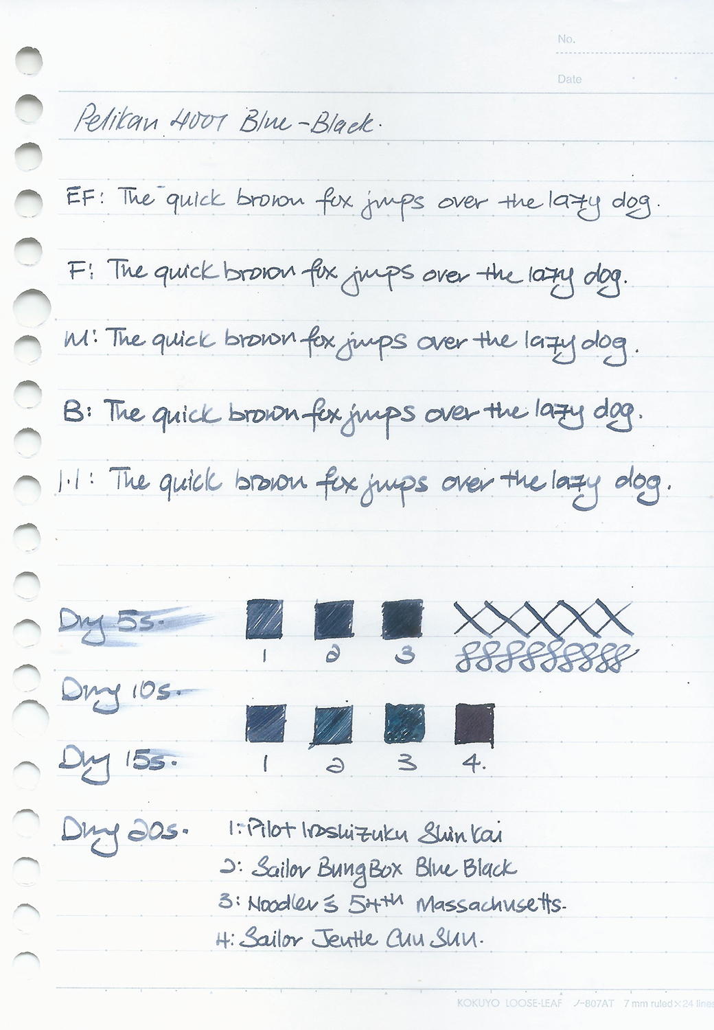 Pelikan 4001 Blue Black 1.JPG
