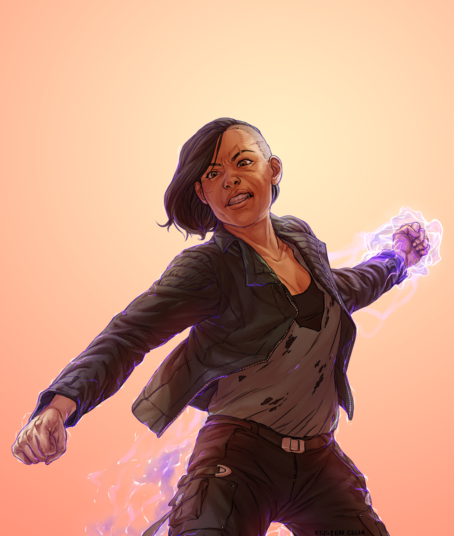 Sara Ryder - Badass biotic
