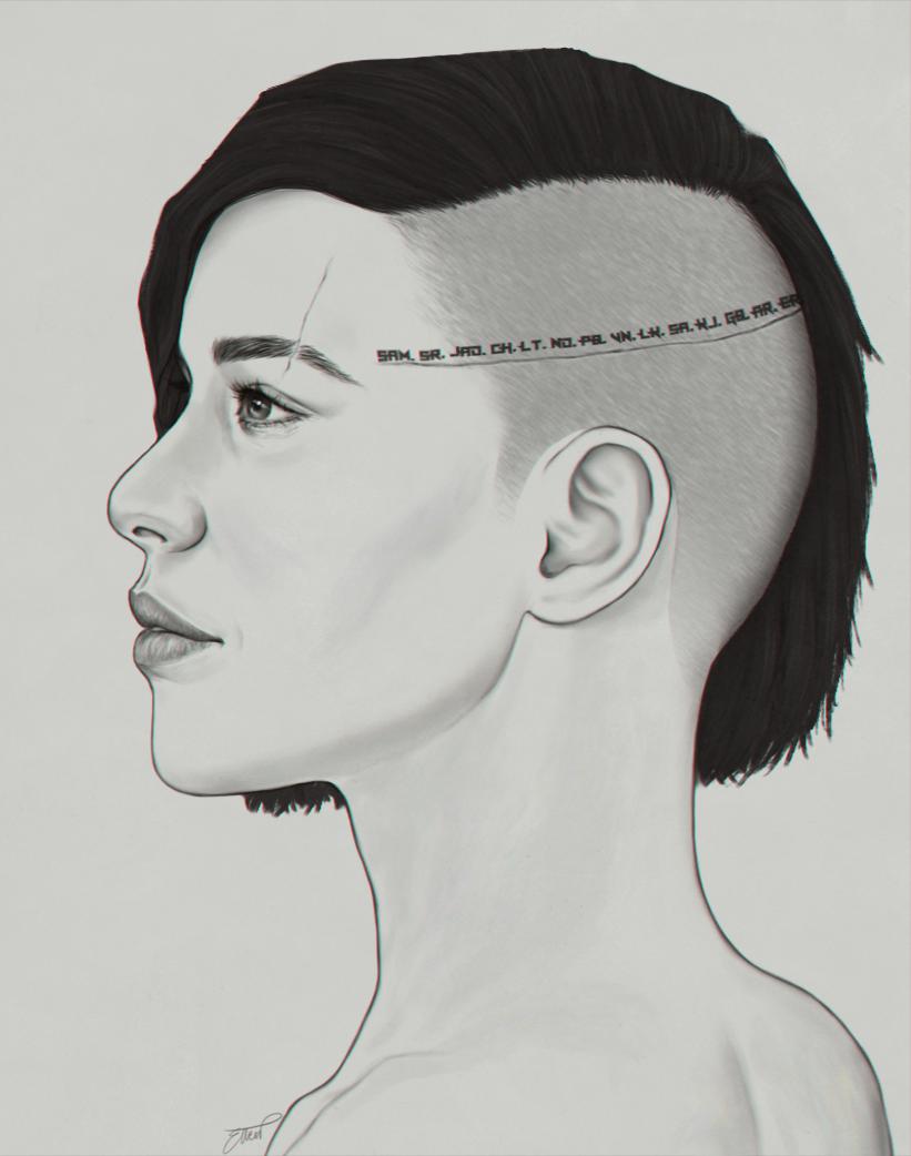 Sara Ryder - head unbowed
