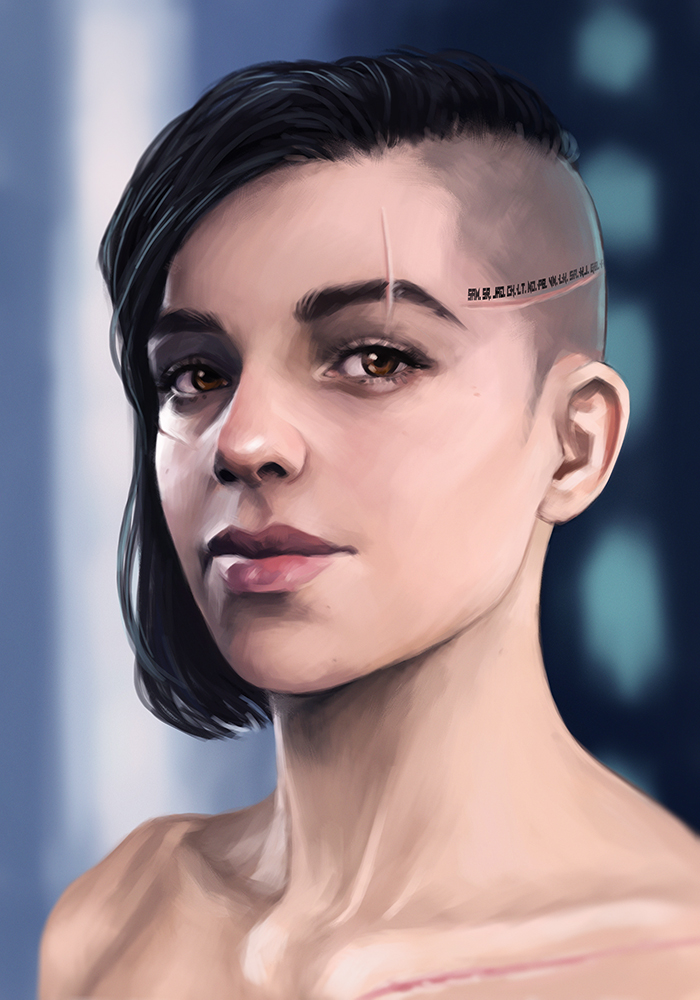 Sara Ryder - Portrait