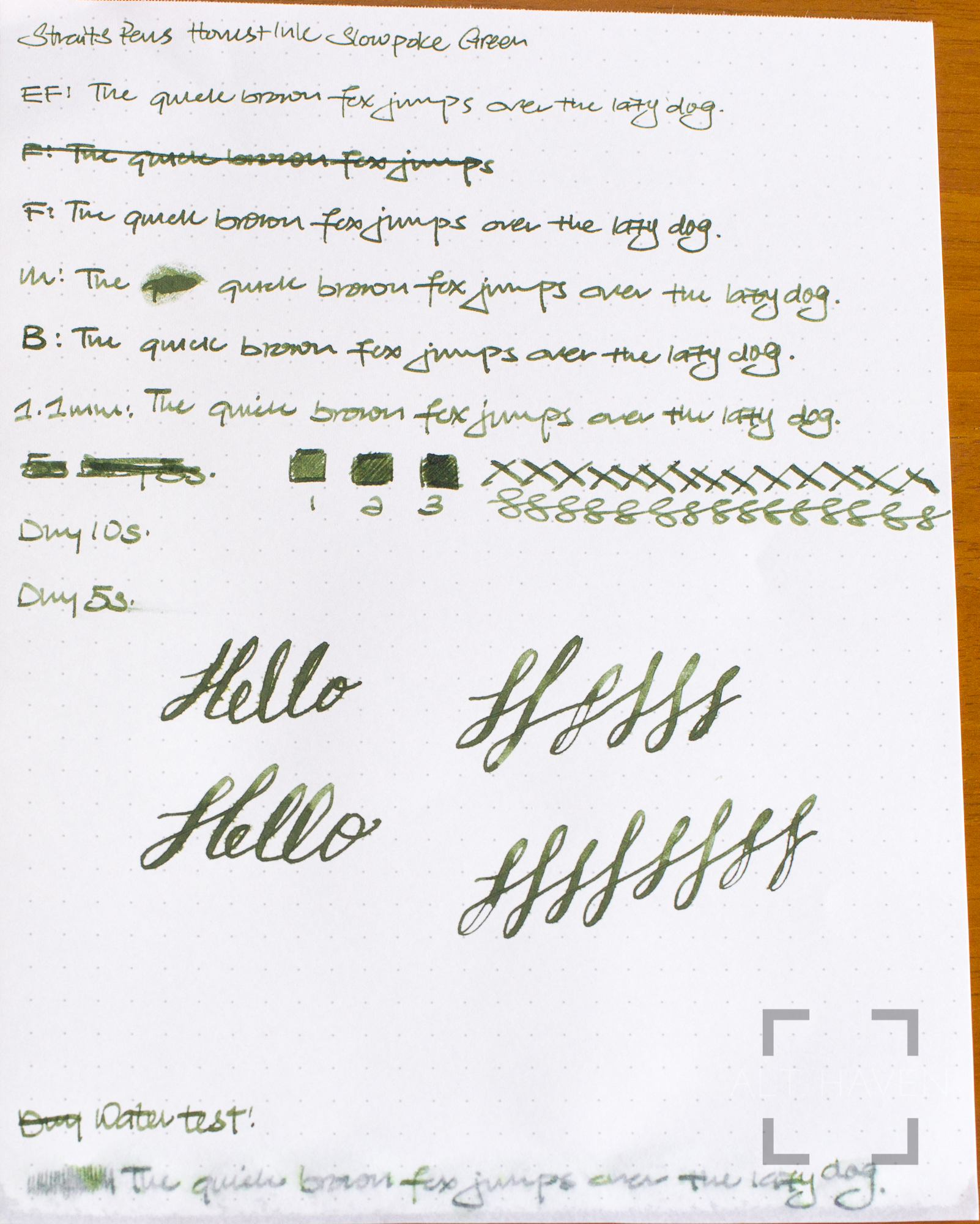 Straits Pen Honest Inks Slowpoke Green.jpg
