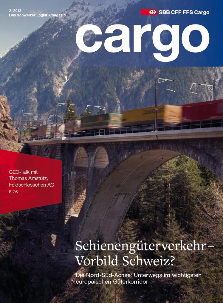Titelbild des SBB Cargo Magazins