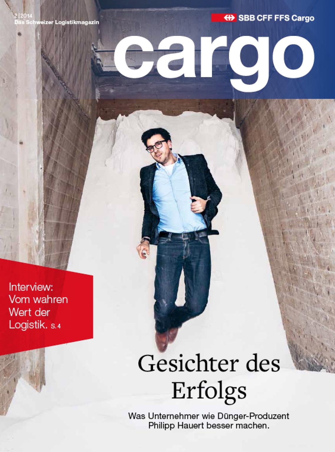 Titelbild SBB Cargo Magazin 2/2014