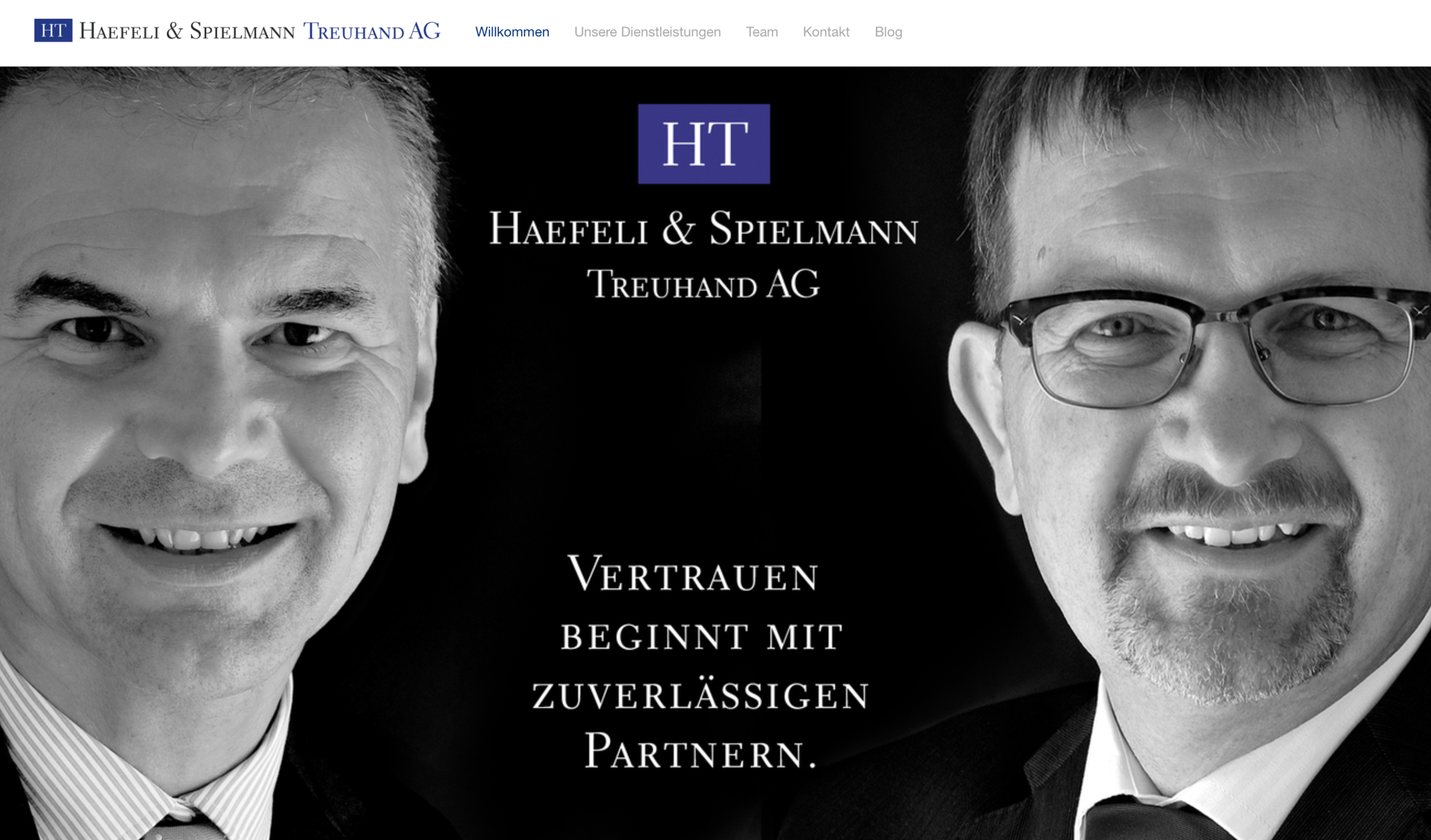 Die Website.