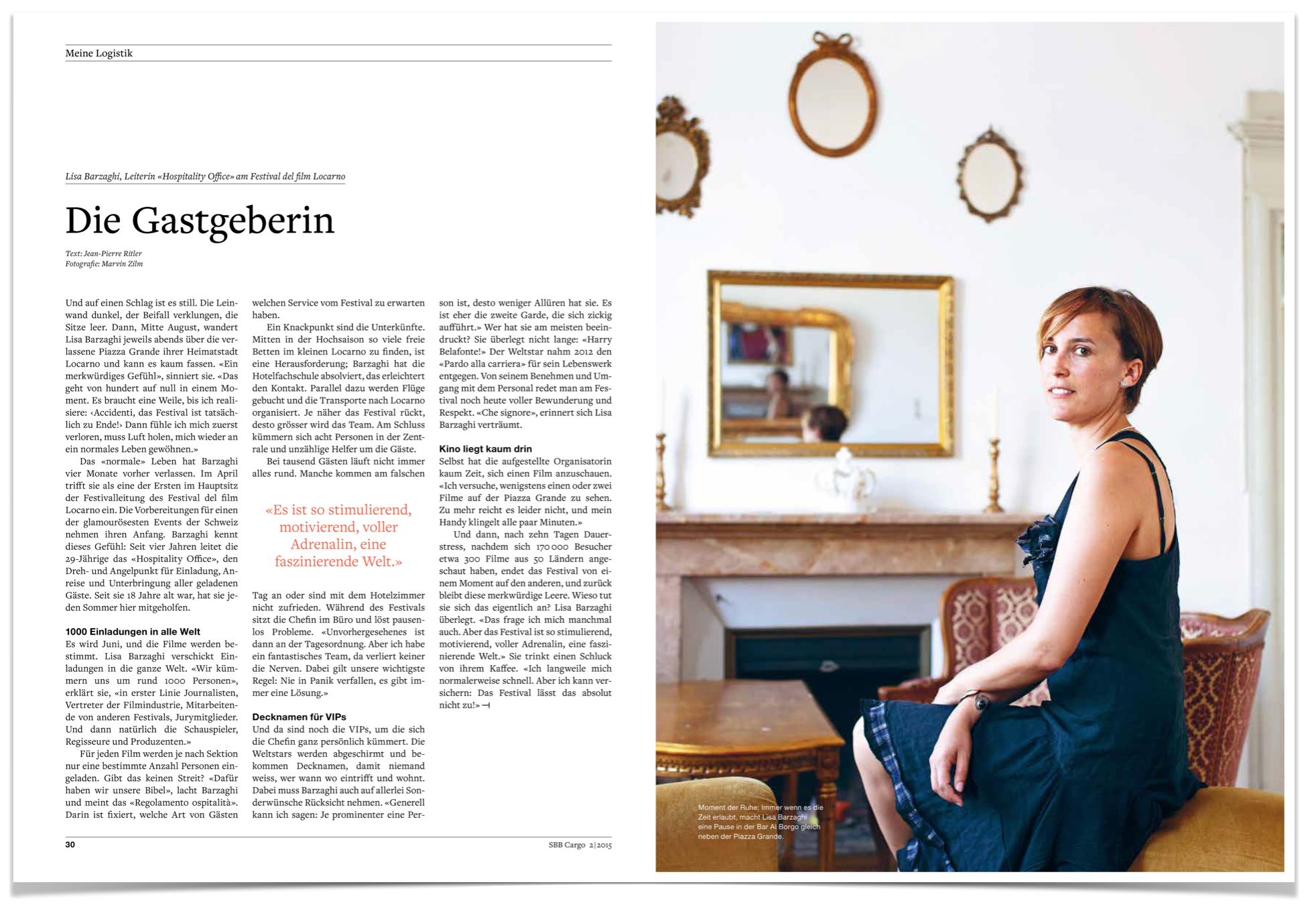 Die Gastgeberin_Text by JPR Media