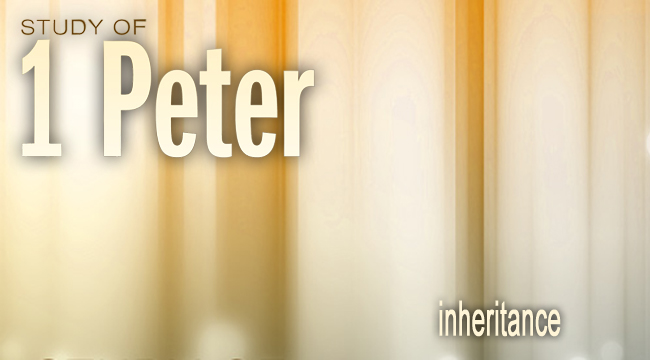 Inheritance  September 1st 2013  Pastor Andy Spohrer