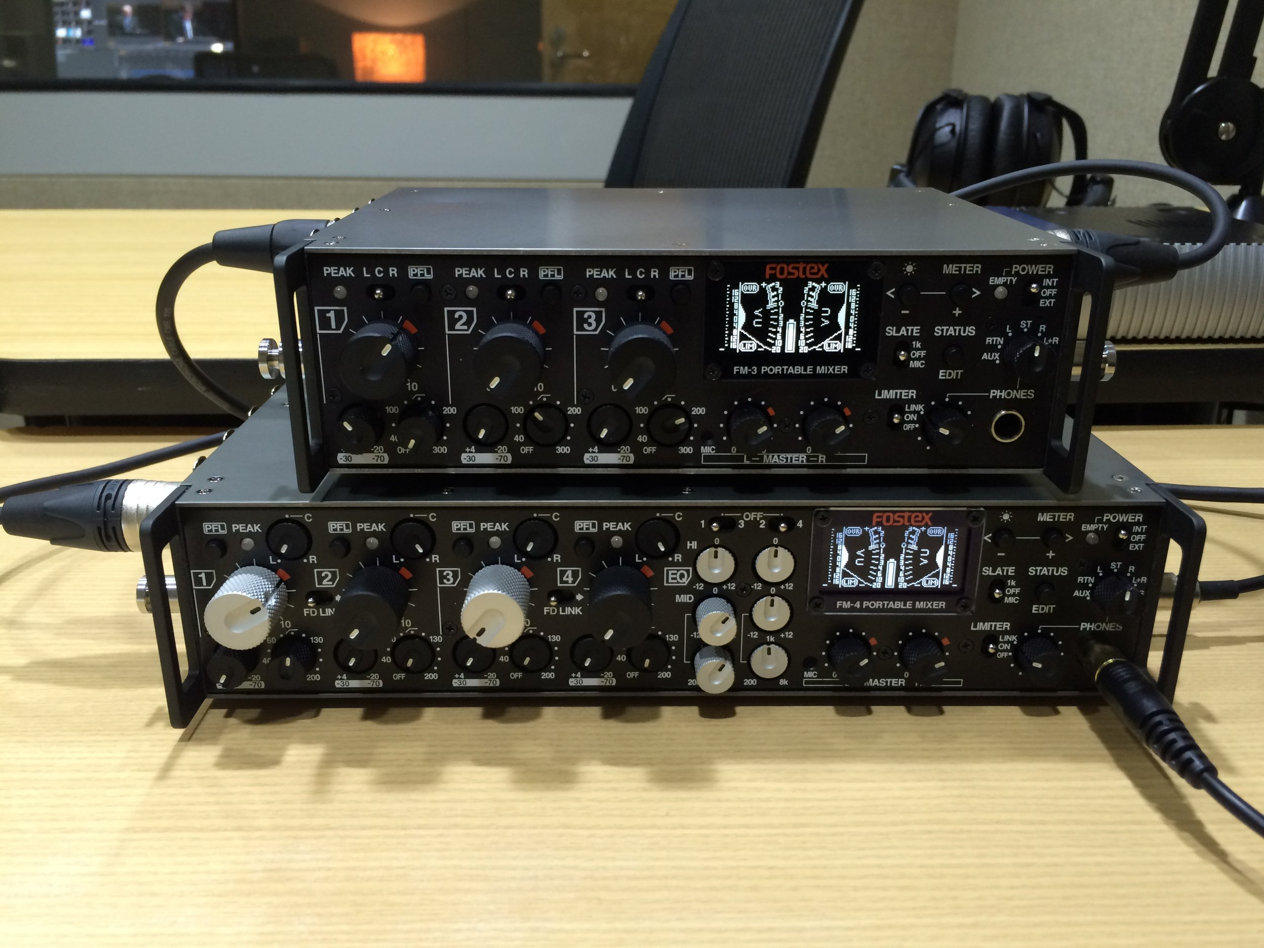 FM-3 and FM-4 in team mode.