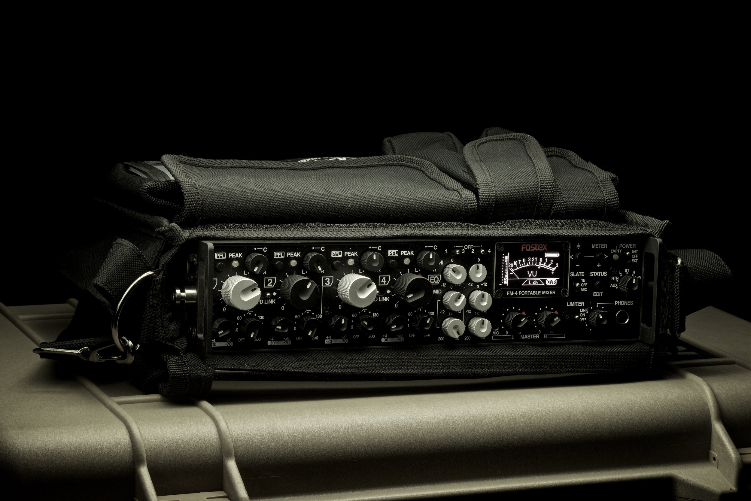 FM-4 in its custom carry case.