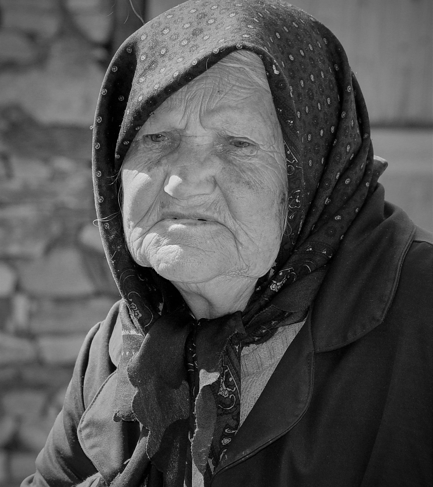 Elderly Bulgarian woman